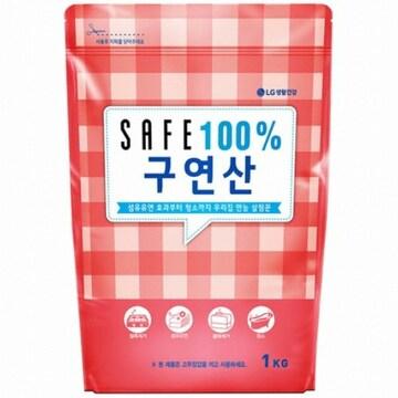세이프 100% 구연산 1kg(2개)