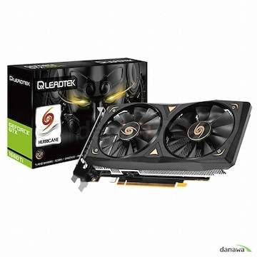 리드텍 WinFast 지포스 GTX 1660 Ti HURRICANE D6 6GB
