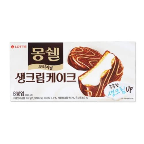 롯데제과 몽쉘 크림케이크 6개입 192g (8개)_이미지