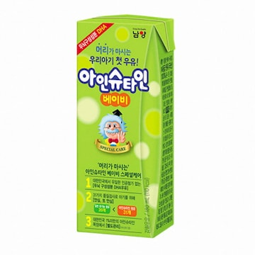남양유업  맛있는우유 GT 아인슈타인 베이비 190ml (멸균) (24개)