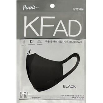 포시 퓨올 플러스 KF-AD 대형 블랙 5개입 (50개)_이미지