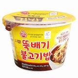 오뚜기 맛있는 오뚜기 컵밥 뚝배기 불고기밥 290g  (1개)