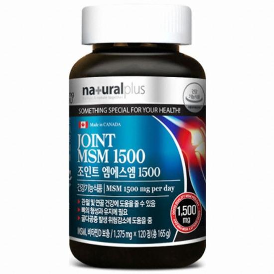 내츄럴플러스 조인트 엠에스엠 1500 120정(1개)