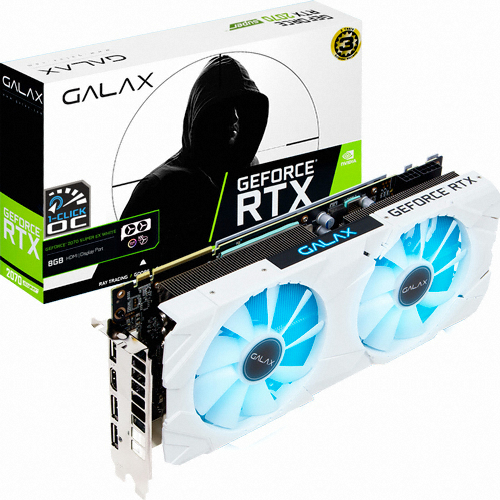 갤럭시 GALAX 지포스 RTX 2070 SUPER EX WHITE OC D6 8GB