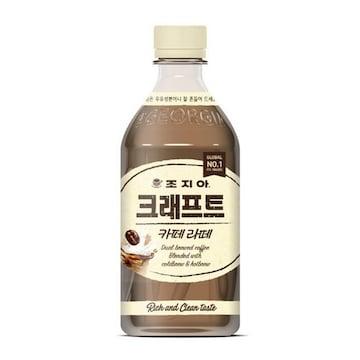 코카콜라음료 조지아 크래프트 카페라떼 470ml(24개)