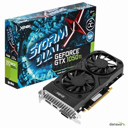 이엠텍 XENON 지포스 GTX1050 Ti STORM X Dual D5 4GB_이미지