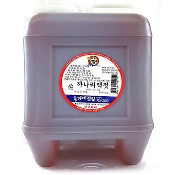 홍가네젓갈 강경 까나리액젓 5kg (1개)_이미지