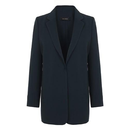 쉬즈미스 여성 오픈 프론트 센터 벤트 재킷 SWWJKI10030_이미지