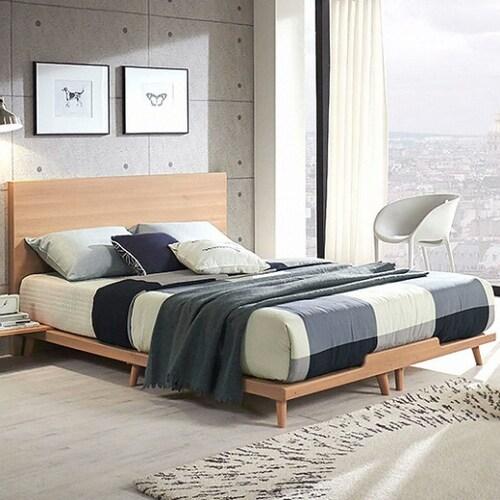 세진TLS 파로마 바이든 와이드 평상형 침대 슈퍼싱글 (SS) (독립스프링)_이미지
