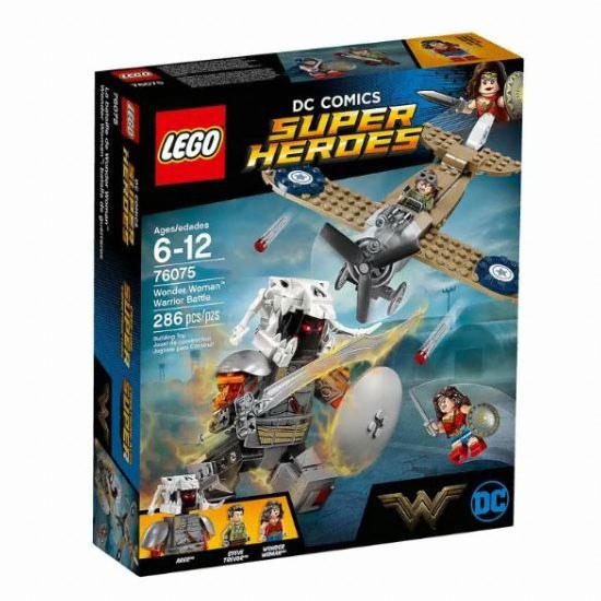 레고 DC 슈퍼히어로 원더우먼 워리어 배틀 (76075)(정품)