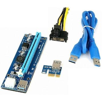 ANIX PCI-E 1x to 16x6P 라이져카드