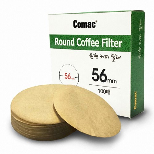 우도상역 코맥 원형 커피여과지 56mm(500매)