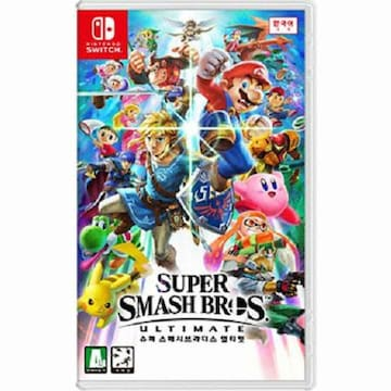 Nintendo  슈퍼 스매시브라더스 얼티밋 (Super Smash Bros Ultimate) SWITCH (한글판,일반판)
