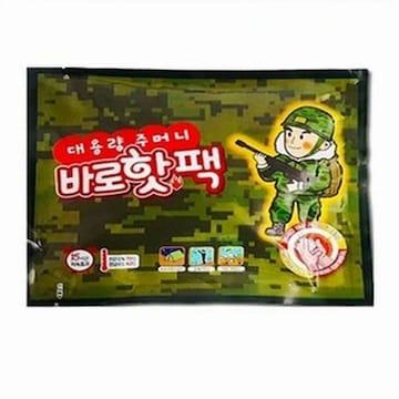 팜텍  대용량 주머니 바로핫팩 (1개)