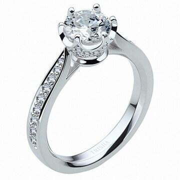 트리샤 18K 눈의여왕3 다이아몬드 1캐럿 반지