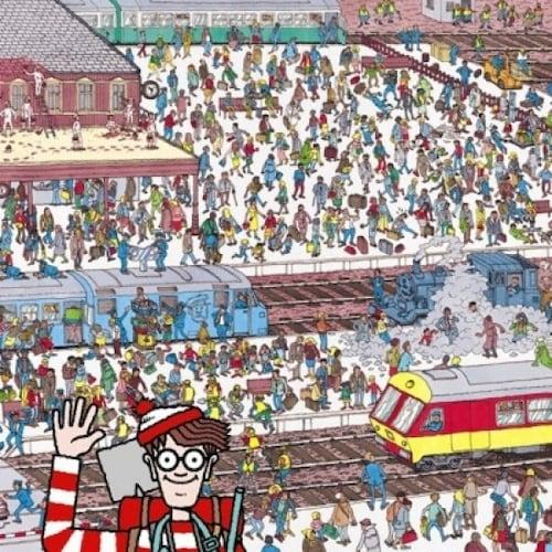 퍼즐라이프  월리를 찾아라 기차역 (300P)_이미지
