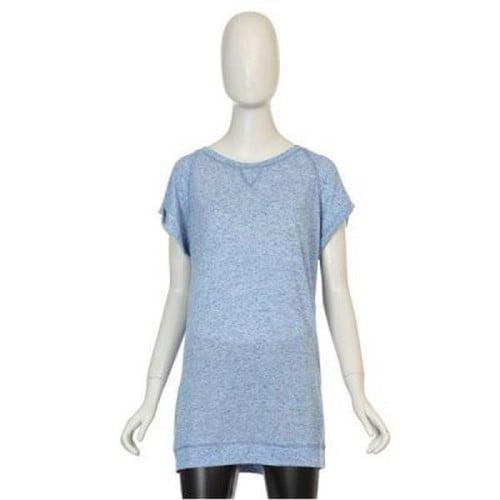 테이트 여성 라운드넥 반팔 티셔츠형 원피스 KA4U4WKO010410_이미지