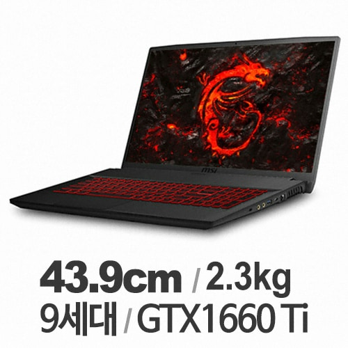 MSI GF시리즈 GF75 Thin 9SD (SSD 256GB)_이미지