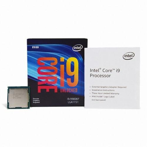 인텔 코어i9-9세대 9900KF (커피레이크-R)(정품)