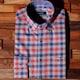 루이까또즈  긴소매 체크무늬 셔츠 Q33658_이미지