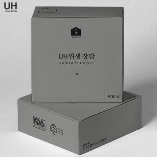 UH 위생장갑 500매 (1개(500매))_이미지