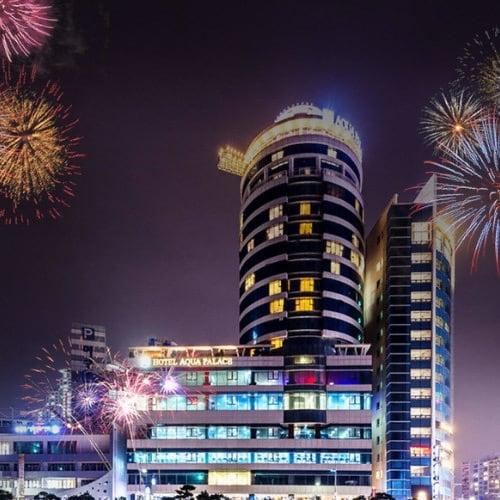 아쿠아펠리스 불꽃축제 + 워터파크 + 사우나 + 찜질23시 이용권 (부산) (대인)_이미지