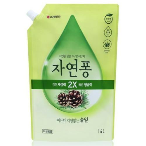 자연퐁 찌든때 걱정없는 솔잎 1.4L(1개)