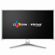 CJ ENM ENTUS F32F180B 게이밍 리얼 180 강화유리