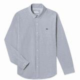 동일드방레 라코스테 남성 옥스퍼드 스트레치 셔츠 CH6407-18A (그레이)_이미지