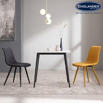 잉글랜더 딜마 통세라믹 식탁세트 (의자2개)_이미지