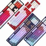 마이크로닉스 MANIC X50 4세대 광축 완전방수 PBT 게이밍 키보드 (화이트 화이트)