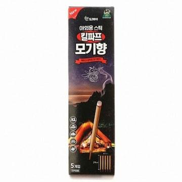 산도깨비 킬파프 모기향 야외용 스틱 5개입(1개)