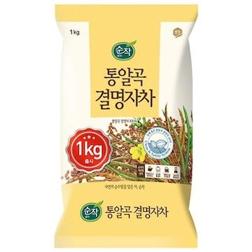 샘표식품 순작 통알곡 결명자차 1kg (1개)