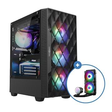 마이크로닉스 Master M60 + AID W240 aRGB(블랙 패키지)