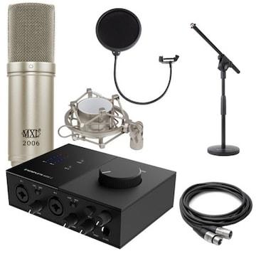 Native Instruments Komplete Audio 2 + MXL MXL-2006 마이크 패키지 3