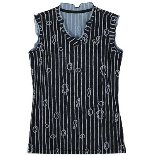 팬텀 마린 로프 프린팅 민소매 티셔츠 22102TL177_이미지