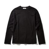 코오롱인더스트리 커스텀멜로우 soft texture round t-shirts CWTAA17512BKX_이미지