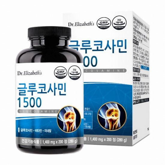 닥터엘리자베스 글루코사민1500 200정(1개)