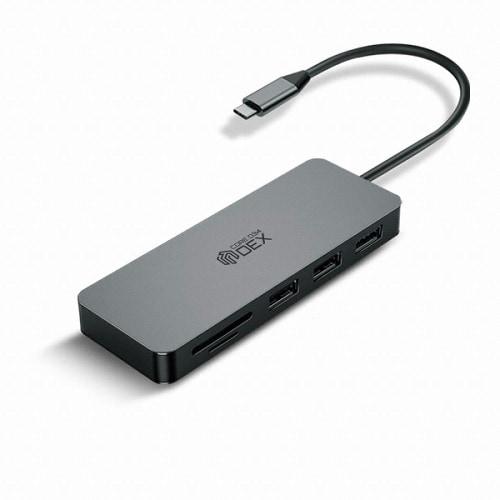 웨이코스 씽크웨이 CORE D34 (7포트/USB 3.0 Type C/멀티포트)_이미지