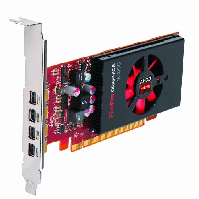 AMD FirePro W4100 D5 2GB 블루존