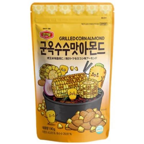 머거본 군옥수수맛 아몬드 190g (3개)_이미지