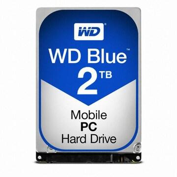 Western Digital WD 2TB MOBILE BLUE WD20SPZX (SATA3/5400/128M/노트북용)