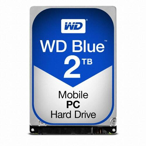 Western Digital WD 2TB MOBILE BLUE WD20SPZX (SATA3/5400/128M/노트북용)_이미지