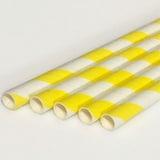 투고팩 종이빨대 (노랑)  (1000개)