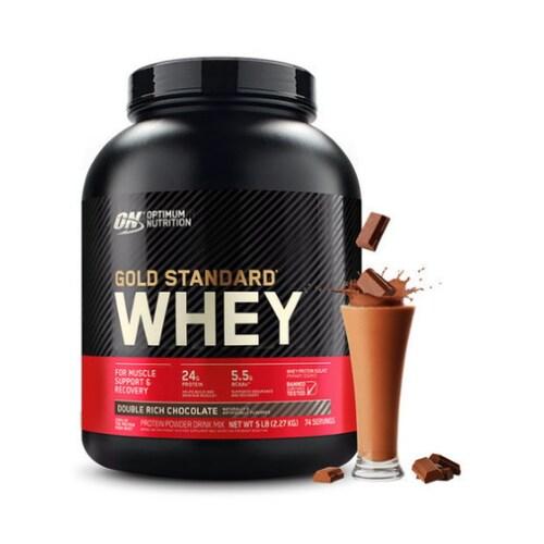 옵티멈  골드스탠다드 웨이 단백질 초코맛 2.27kg (1개)_이미지