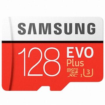 삼성전자  micro SDXC CLASS10 UHS-I U3 EVO Plus 100MB/s (벌크,128GB)