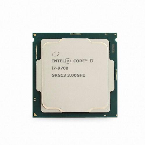 인텔 코어i7-9세대 9700 (커피레이크-R) (벌크 + 쿨러)_이미지