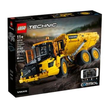 레고 테크닉 6x6 볼보 굴절식 덤프트럭 (42114)