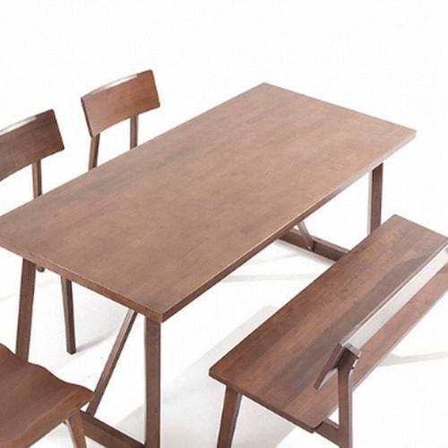 소낭구  희망 원목 식탁세트 1400 (의자2개+벤치1개)_이미지