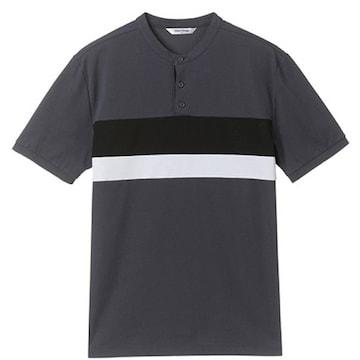 마인드브릿지 남성 에어로쿨 피케 가로배색 카라티셔츠